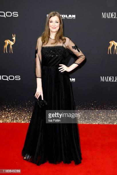 German actress Alexandra Maria Lara arrives for the 71st Bambi Awards at Festspielhaus BadenBaden on November 21 2019 in BadenBaden Germany
