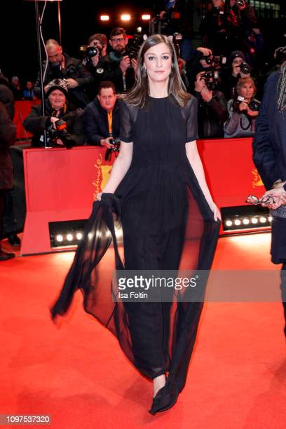 German actress Alexandra Maria Lara attends the opening ceremony and The Kindness Of Strangers premiere during the 69th Berlinale International Film...