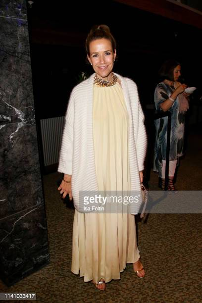 German actress Alexandra Neldel attends the Lola - German Film Award Party at Palais am Funkturm on May 3, 2019 in Berlin, Germany.