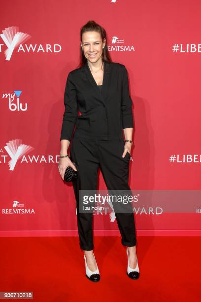 German actress Alexandra Neldel attends the Reemtsma Liberty Award 2018 on March 22, 2018 in Berlin, Germany.