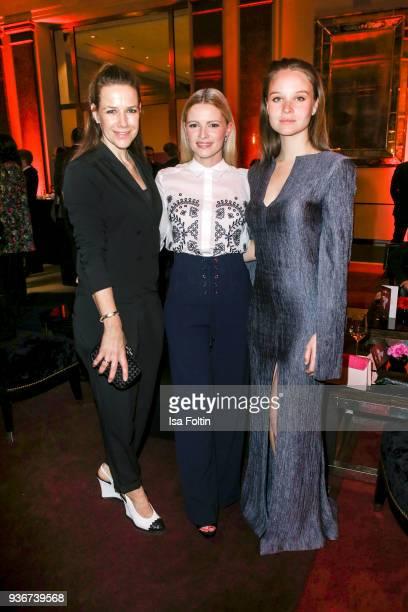 German actress Alexandra Neldel, German actress Jennifer Ulrich and German actress Sonja Gerhardt during the Reemtsma Liberty Award 2018 on March 22,...