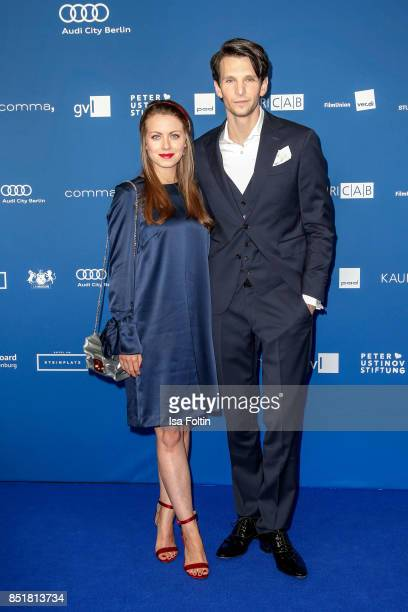 German actress Alice Dwyer and her boyfriend German actor Sabin Tambrea during the 6th German Actor Award Ceremony at Zoo Palast on September 22,...