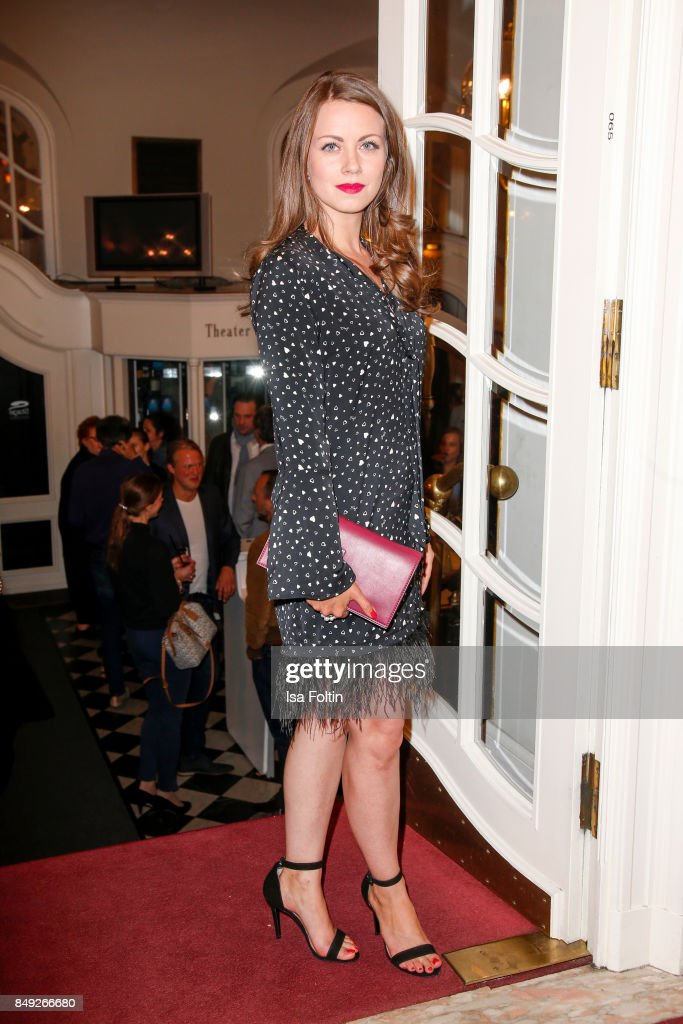 German actress Alice Dwyer attends the First Steps Awards 2017 at Stage Theater on September 18, 2017 in Berlin, Germany.