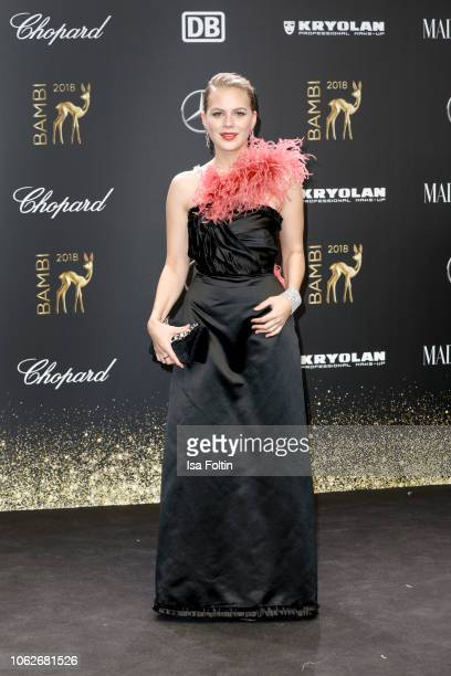 German actress Alicia von Rittberg attends the 70th Bambi Awards at Stage Theater on November 16, 2018 in Berlin, Germany.