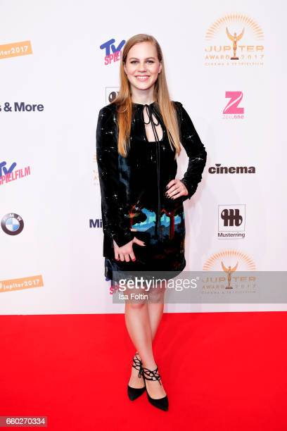 German actress Alicia von Rittberg attends the Jupiter Award at Cafe Moskau on March 29, 2017 in Berlin, Germany.