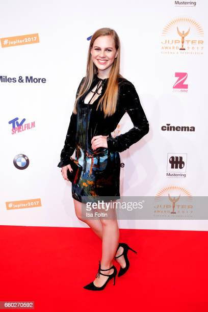 German actress Alicia von Rittberg attends the Jupiter Award at Cafe Moskau on March 29 2017 in Berlin Germany