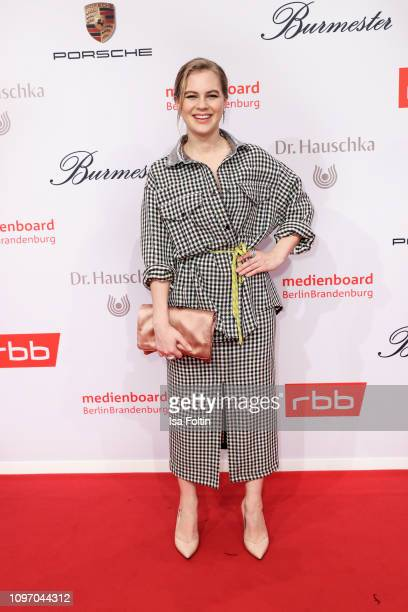 German actress Alicia von Rittberg attends the Medienboard Berlin-Brandenburg Reception on the occasion of the 69th Berlinale International Film...