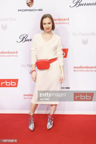 German actress Alina Levshin attends the Medienboard Berlin-Brandenburg Reception on the occasion of the 69th Berlinale International Film Festival...