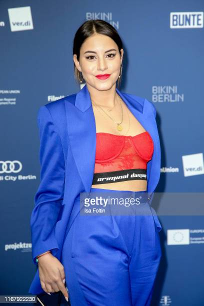 German actress Almila Bagriacik at the award ceremony of the Deutscher Schauspielpreis at Zoo Palast on September 13 2019 in Berlin Germany