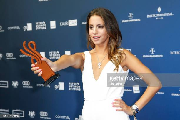 German actress and award winner Almila Bagriacik during the 6th German Actor Award Ceremony at Zoo Palast on September 22 2017 in Berlin Germany