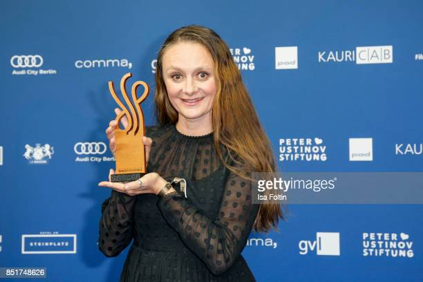 German actress and award winner Gerti Drassl during the 6th German Actor Award Ceremony at Zoo Palast on September 22, 2017 in Berlin, Germany.
