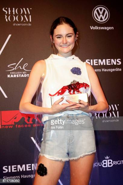 German actress and award winner Lea van Acken During the New Faces Award Style 2017 at The Grand on November 15 2017 in Berlin Germany