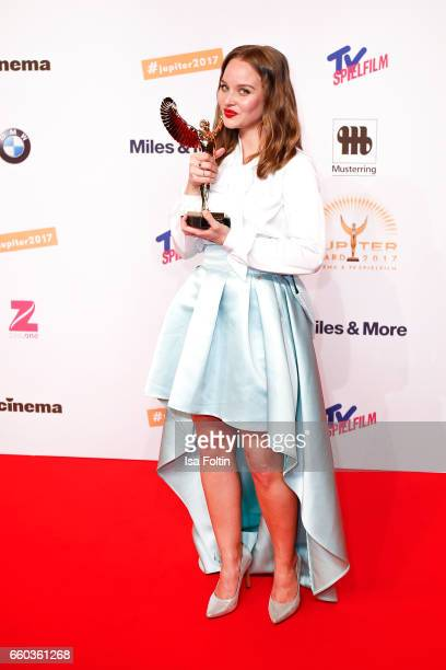 German actress and award winner Sonja Gerhardt attends the Jupiter Award at Cafe Moskau on March 29 2017 in Berlin Germany