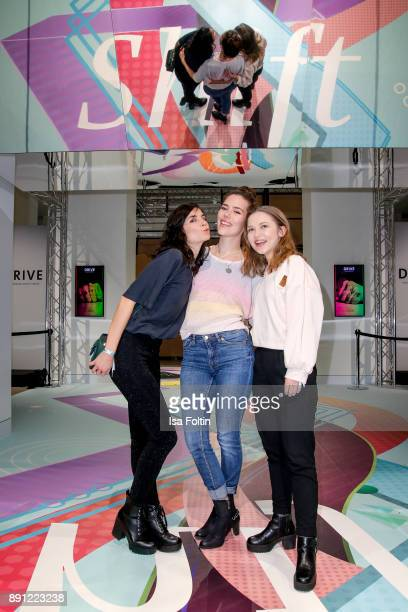German actress and Blogger Tanja Lehmann German actress and Blogger Marielena Krewer and German actress and Blogger Marija Mauer during the...