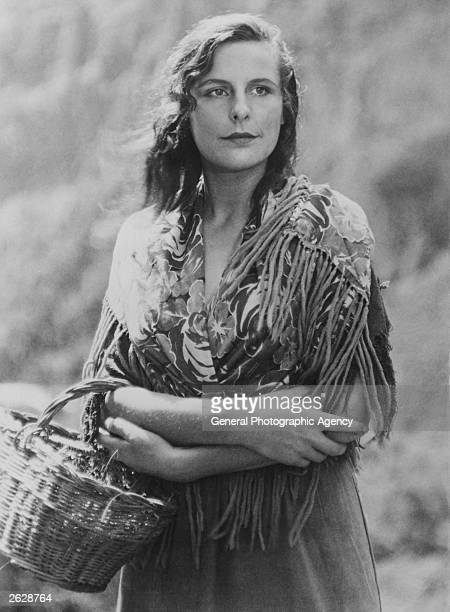 German actress and film director Leni Riefenstahl , as Junta the mountain girl, in the film 'Das Blaue Licht' , directed by herself and Bela Balazs.