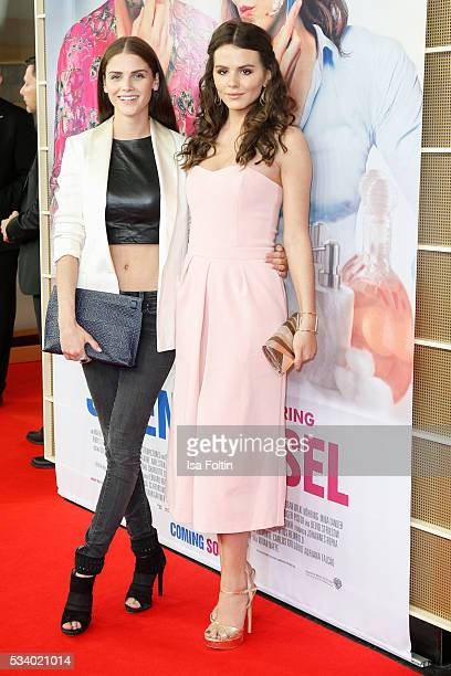 German actress and model Lisa Tomaschewsky and german actress Ruby O Fee attend the premiere of the film 'Seitenwechsel' at Zoo Palast on May 24 2016...