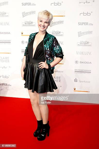 German actress and model Simone Gutsche attends the Goldene Henne on October 28 2016 in Leipzig Germany