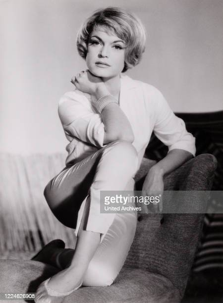 German actress and movie director Margit Saad, Germany, early 1960s. .