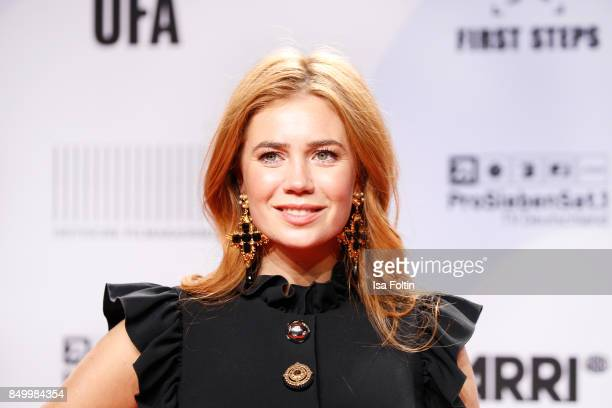 German actress and presenter Palina Rojinski attends the First Steps Awards 2017 at Stage Theater on September 18 2017 in Berlin Germany