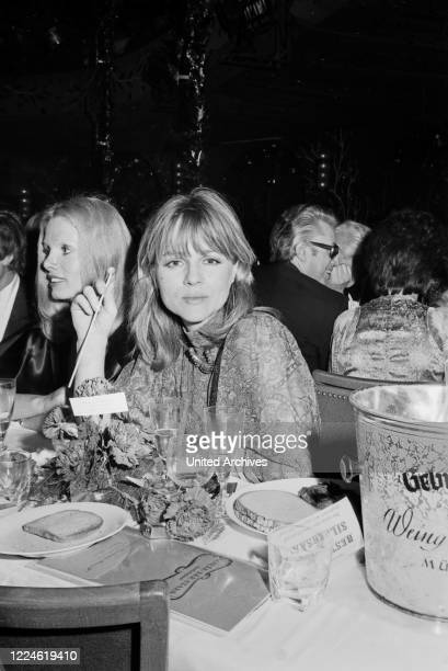 German actress and singer Cornelia Froboess at the Soiree der Stars on January 11th 1975 in Munich Germany 1970s