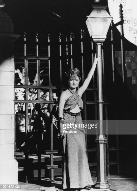 German actress and singer Hanna Schygulla stars in the Rainer Werner Fassbinder film 'Lili Marleen' 15th January 1981
