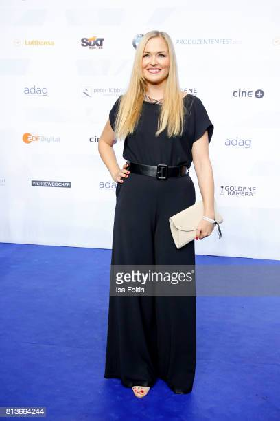 German actress and singer Judith Hoersch attends the summer party 2017 of the German Producers Alliance on July 12 2017 in Berlin Germany