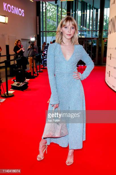 German actress and singer Lina Larissa Strahl attends the annual Young Icons Award at Kosmos on April 30 2019 in Berlin Germany