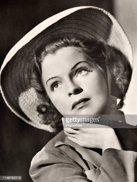German actress and singer Magda Schneider, the mother of Romy Schneider and Adolf Hitler's favourite actress, circa 1945. Initially studying both...