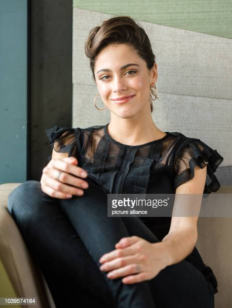 German actress and singer Martina 'Tini' Stoessel during an interview in the Elbphilharmonie in Hamburg Germany 28 February 2017 Photo Daniel...