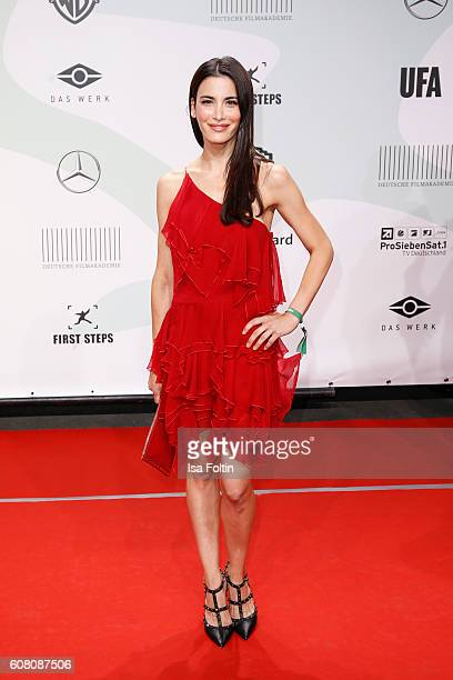 German actress and wife of Alexander Dibelius, Laila Maria Witt attends the First Steps Awards 2016 at Stage Theater on September 19, 2016 in Berlin,...