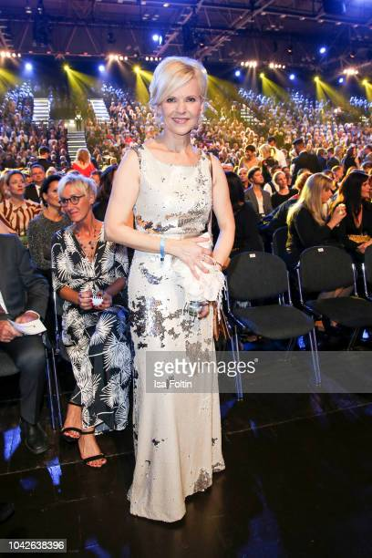 German actress Andrea Kathrin Loewig during the Goldene Henne on September 28 2018 in Leipzig Germany