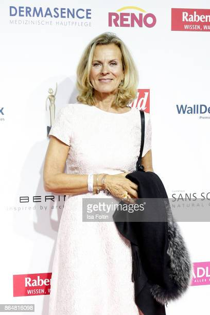 German actress Andrea L'Arronge attends the 'Goldene Bild der Frau' award at Hamburg Cruise Center on October 21 2017 in Hamburg Germany