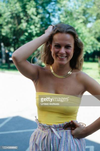 German actress Andrea L'Arronge, Germany, 1970s.