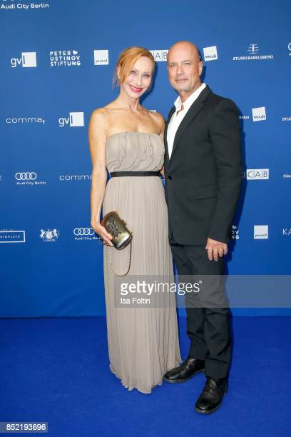 German actress Andrea Sawatzki and Christian Berkel during the 6th German Actor Award Ceremony at Zoo Palast on September 22 2017 in Berlin Germany