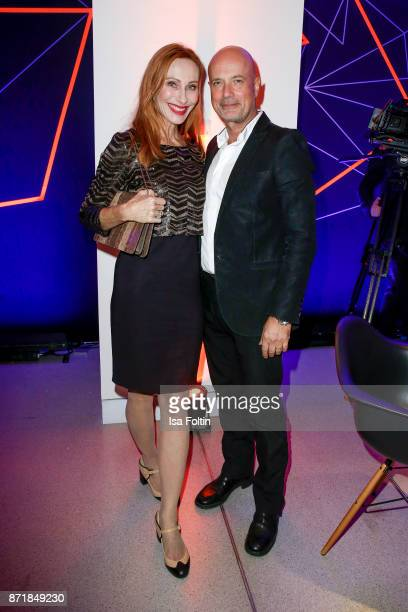 German actress Andrea Sawatzki and her husband German actor Christian Berkel attend the Volkswagen Dinner Night prior to the GQ Men of the Year Award...