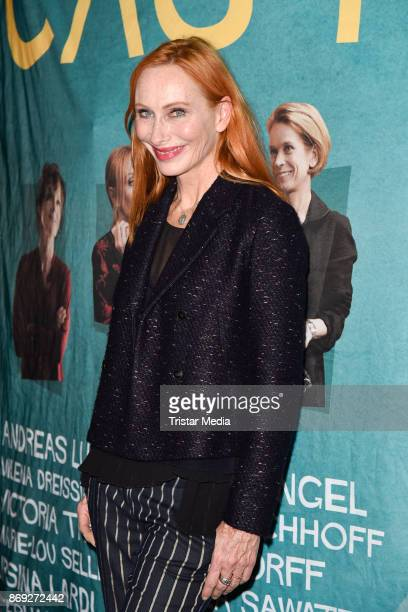 German actress Andrea Sawatzki attends the 'Casting' premiere at Cinema Paris on November 1 2017 in Berlin Germany