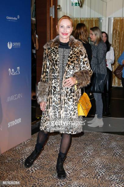 German actress Andrea Sawatzki attends the 'Maleika' Film Premiere at Zoo Palast on October 4 2017 in Berlin Germany