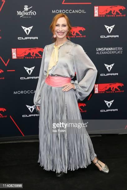 German actress Andrea Sawatzki attends the New Faces Award Film at Umspannwerk Alexanderplatz on May 2 2019 in Berlin Germany