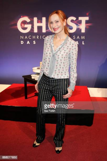 German actress Andrea Sawatzki during the premiere of 'Ghost Das Musical' at Stage Theater on December 7 2017 in Berlin Germany