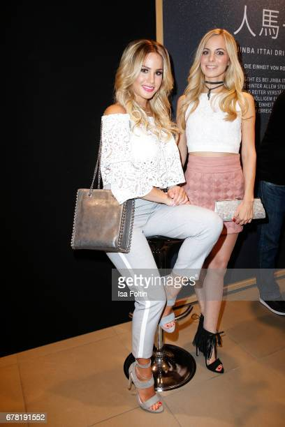 German actress Angelina Heger and german actress and presenter Syra Feiser during the spring cocktail hosted by Mazda and InTouch magazine at Mazda...