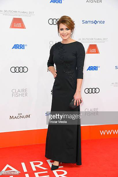 German actress Anja Kling attends the German Film Ball 2017 at Hotel Bayerischer Hof on January 21 2017 in Munich Germany