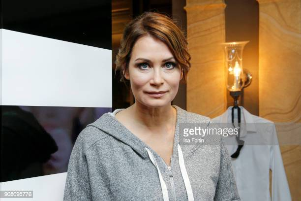 German actress Anja Kling during the Burda Style Lounge on the occasion of the German Film Ball on January 20, 2018 in Munich, Germany.