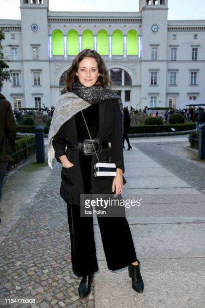 German actress Anja Knauer attends the Flying Pictures World Premiere on April 3 2019 in Berlin Germany