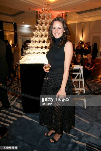 German actress Anja Knauer during the Ritz Carlton Berlin ReOpening Party at Ritz Carlton on March 5 2019 in Berlin Germany