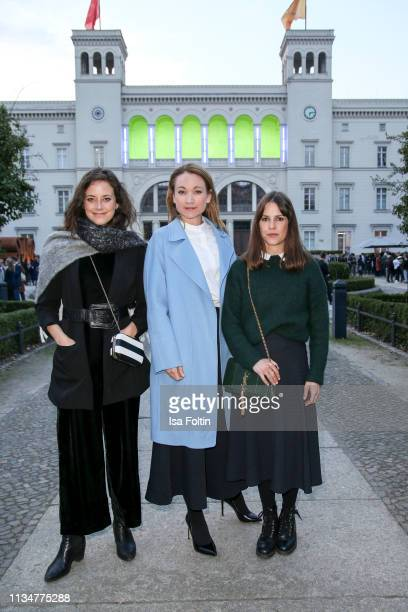 German actress Anja Knauer German actress Lisa Marie Potthoff and German actress Birte Wolter attend the Flying Pictures World Premiere on April 3...