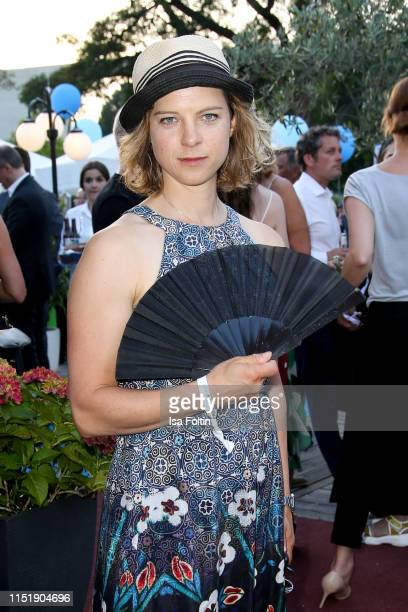 German actress Anjorka Strechel attends the summer party of the German Producers Alliance on June 25 2019 in Berlin Germany