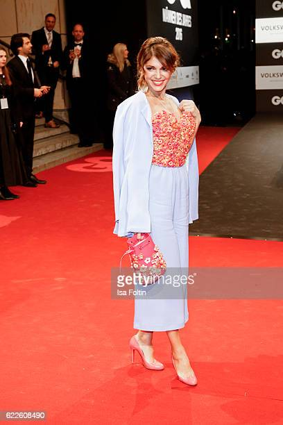 German actress Anna Angelina Wolfers attends the GQ Men of the year Award 2016 at Komische Oper on November 10 2016 in Berlin Germany
