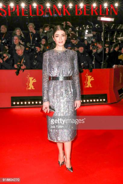 German actress Anna Bederke attends the Opening Ceremony 'Isle of Dogs' premiere during the 68th Berlinale International Film Festival Berlin at...
