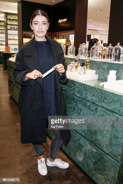 German actress Anna Bederke during the Alsterhaus Beauty Opening 'Die Neue Schönheit' on October 13 2017 in Hamburg Germany
