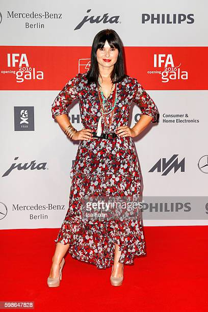 German actress Anna Fischer attends the IFA 2016 opening gala on September 1 2016 in Berlin Germany